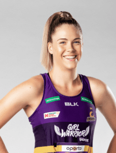 Kim Jenner Queensland Firebirds